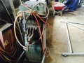 Spot welder and sheet metal roller